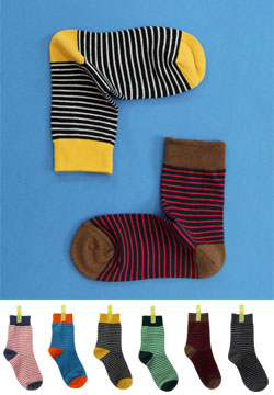 17861 - stripe ankle sock
