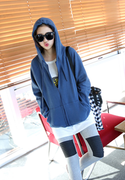 21244 - Hood napping Zip up