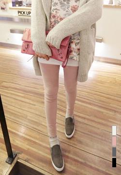 21653 - Corduroy Banding Pants