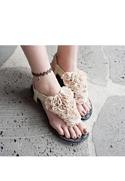 22 806 - Corsage Flip flops Sandals
