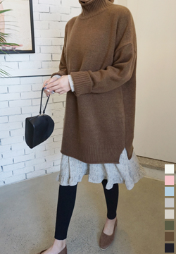 26787 - Rolled Long knit (44 ~ 77size)-copy