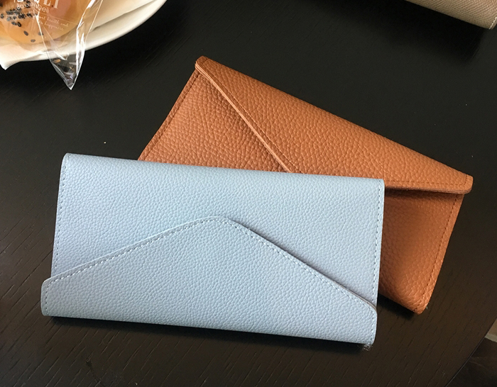 28702 - Togo Fake Leather Long Wallet