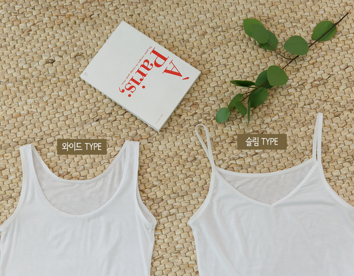 28987 - [SS.made] (3type) Everyday Together Sleeveless shirts
