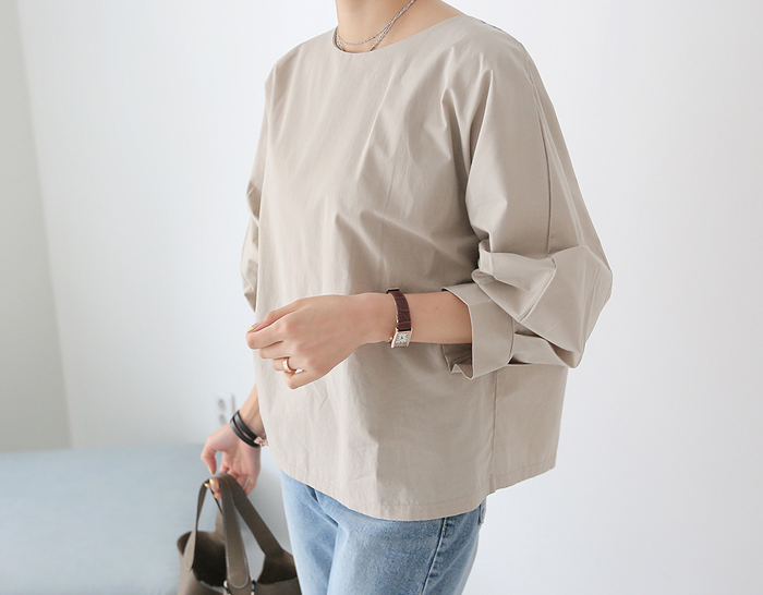 29006 - [SS.made] Grace Balloon Blouse (4color)