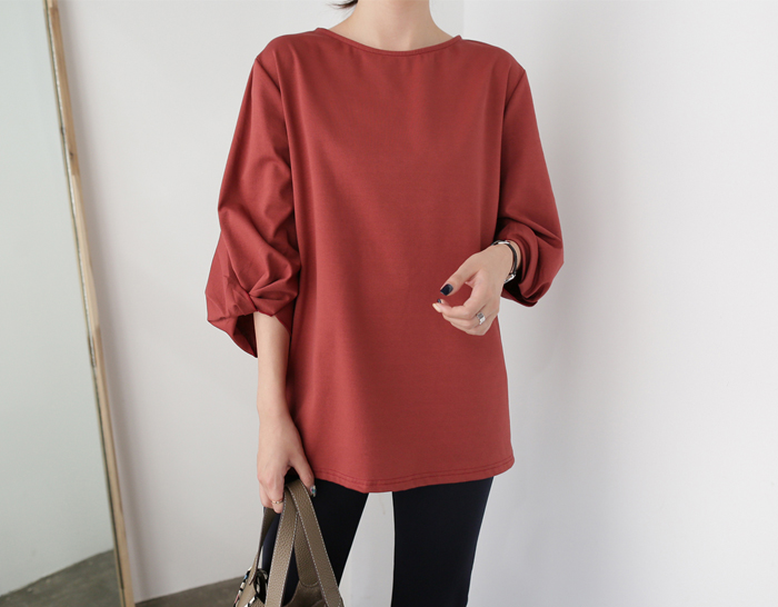 29411 - Day knot Blouse (3color)