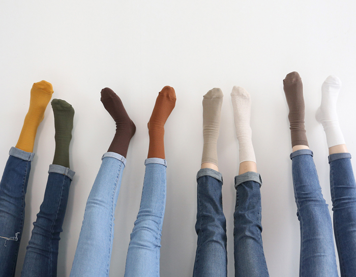 29581 - Long socks every day (13color)