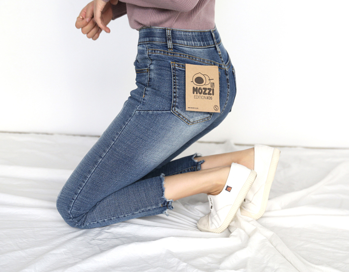 29604 - [SS.made] [Banding in] Mochi Wave Cutting Jean