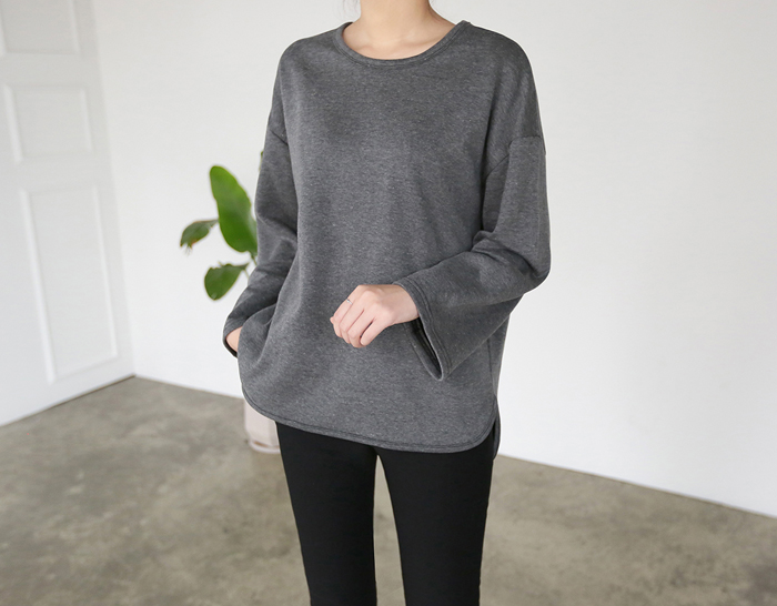 29751 - [SS.made] Round brushed tee (3color)