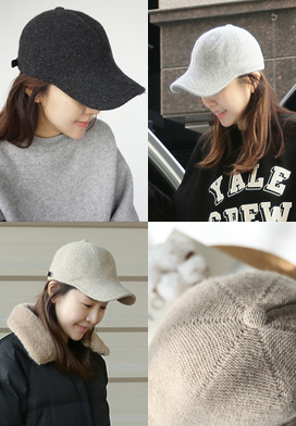29805 - Wool Angora Hat (5color)