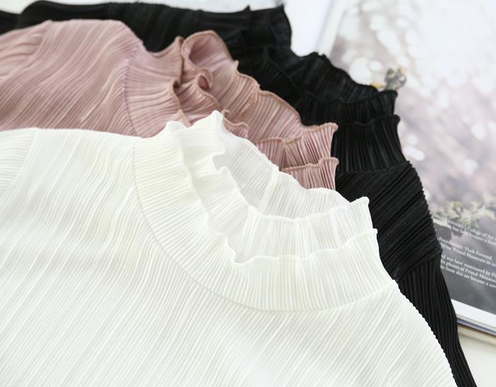 30192 - Race Pleats Blouse (3color)
