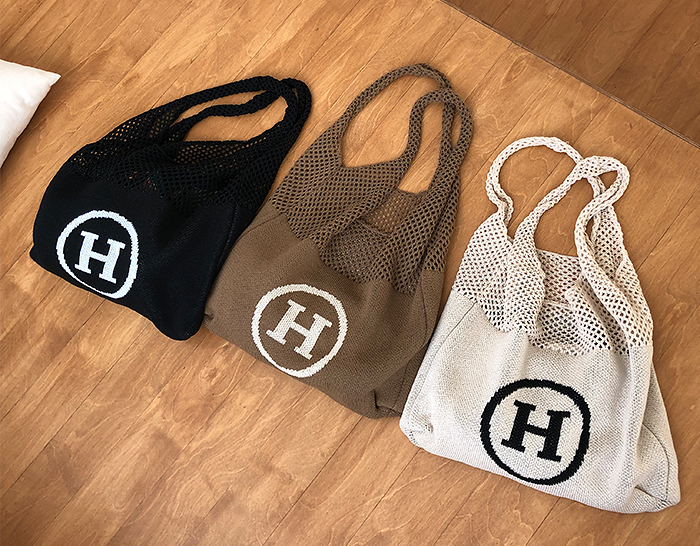 30350 - H Knit Eco Bag (3color)