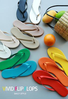 30526 - Flip Flops Vibe Flip Flops (11color)