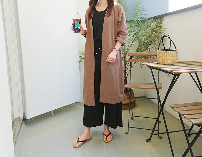 30533 - Lob Long jacket (2color)