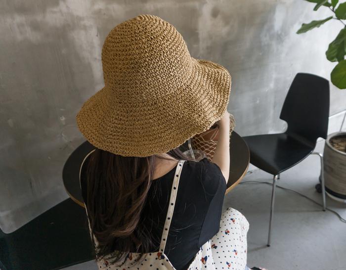 25846 - Brimmed hat Rupee