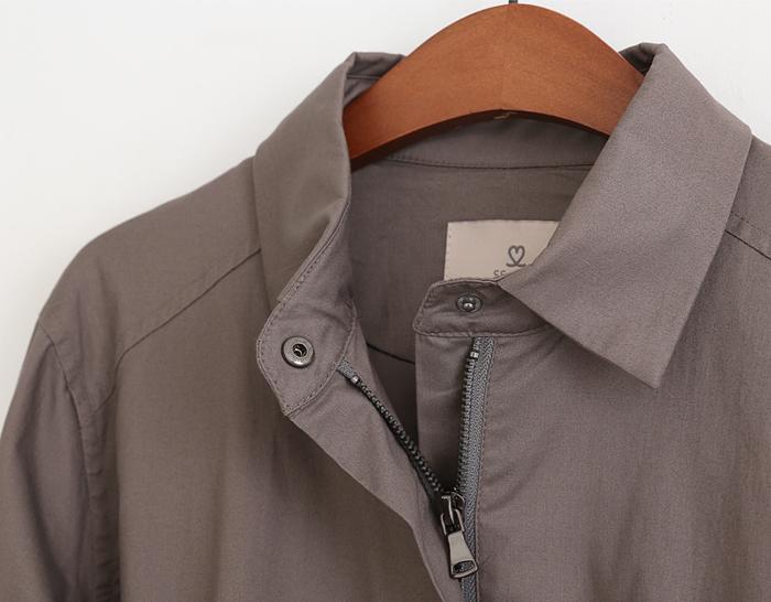 30845 - [SS.made] Joseph Banding Trench Jacket