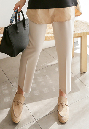 31204 - Pintak Straight Slacks (2color)