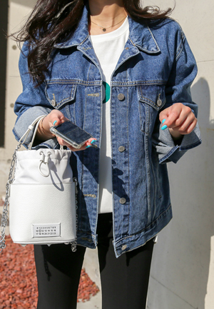 31214 - Daily Denim Jacket (2color)