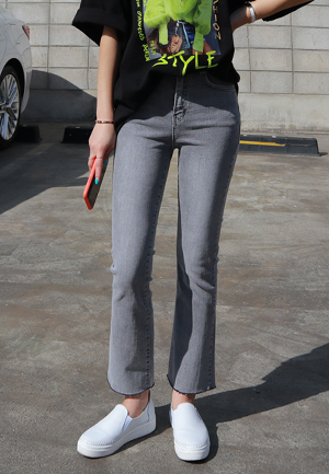 31265 - Washing Gray Boot cut